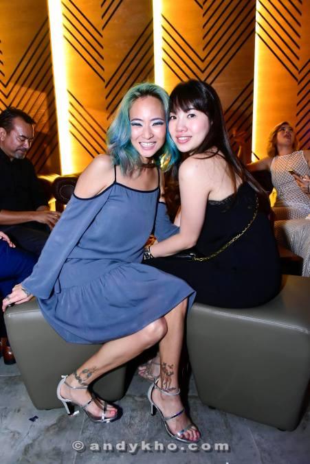 Popular blogger Kinky Blue Fairy with a friend