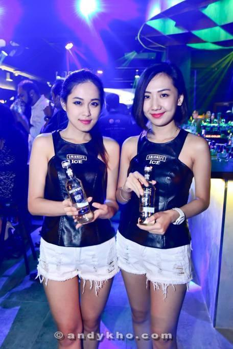 Smirnoff Ice promoter girls