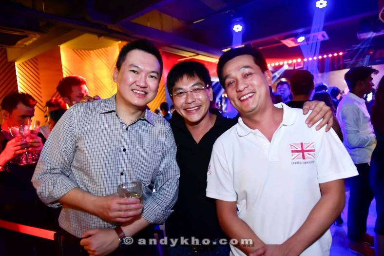 With my old friend Swee Yeong (who introduced me to the FHM editor many years ago leading to me getting a job with FHM) and his friend