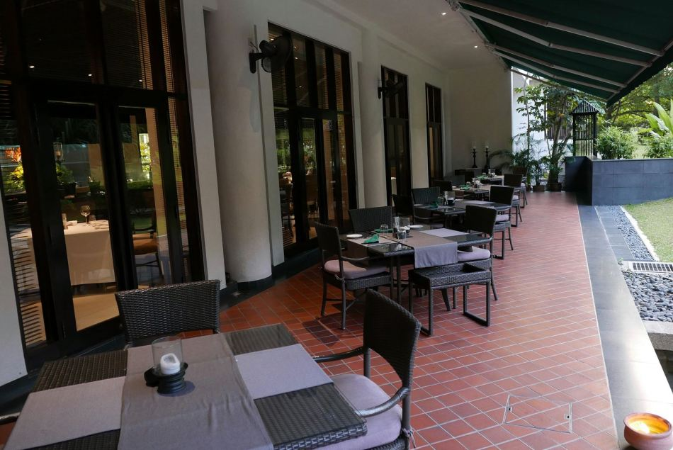 The al fresco area for those who like some fresh air