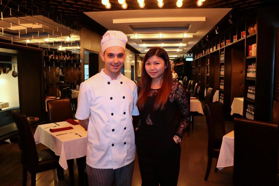 Pearl with Chef Stefano Criber