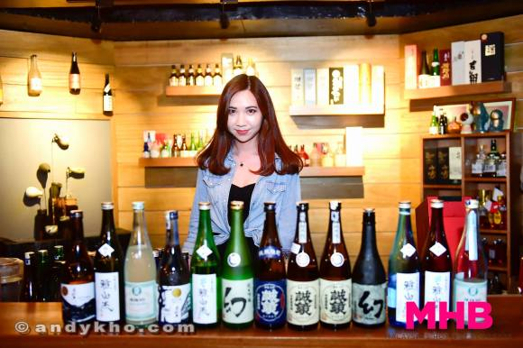 Somehow we managed to finish all the sake!