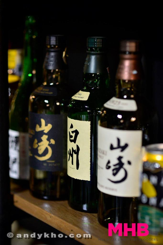 Not forgetting Japanese whiskies such as Yamazaki