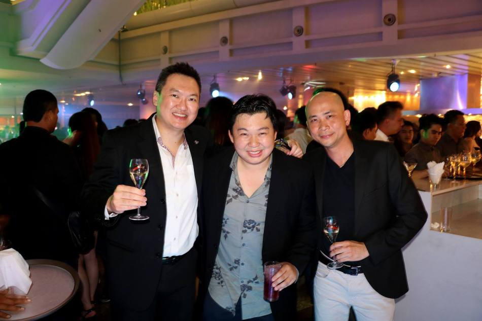 Andy and me with Joseph Yeoh of YTL