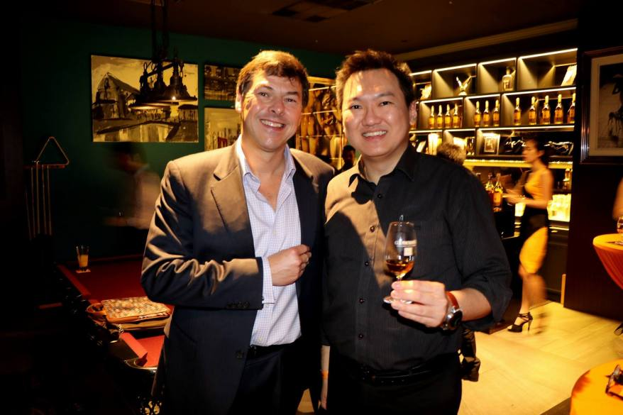 With Glenmorangie's master distiller Dr. Bill Lumsden