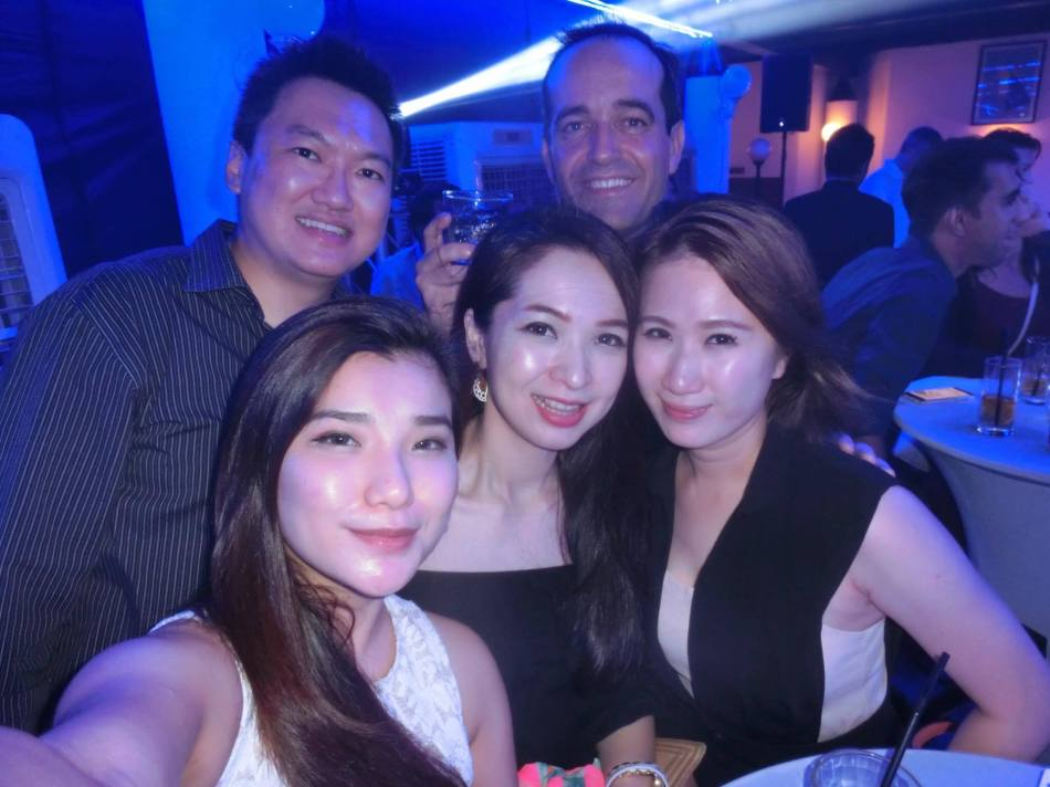 Us with Pernod Ricard Malaysia MD Sebastian