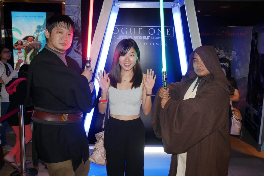 Don't worry Wei Leng, a Jedi uses his power for defence, never for attack.
