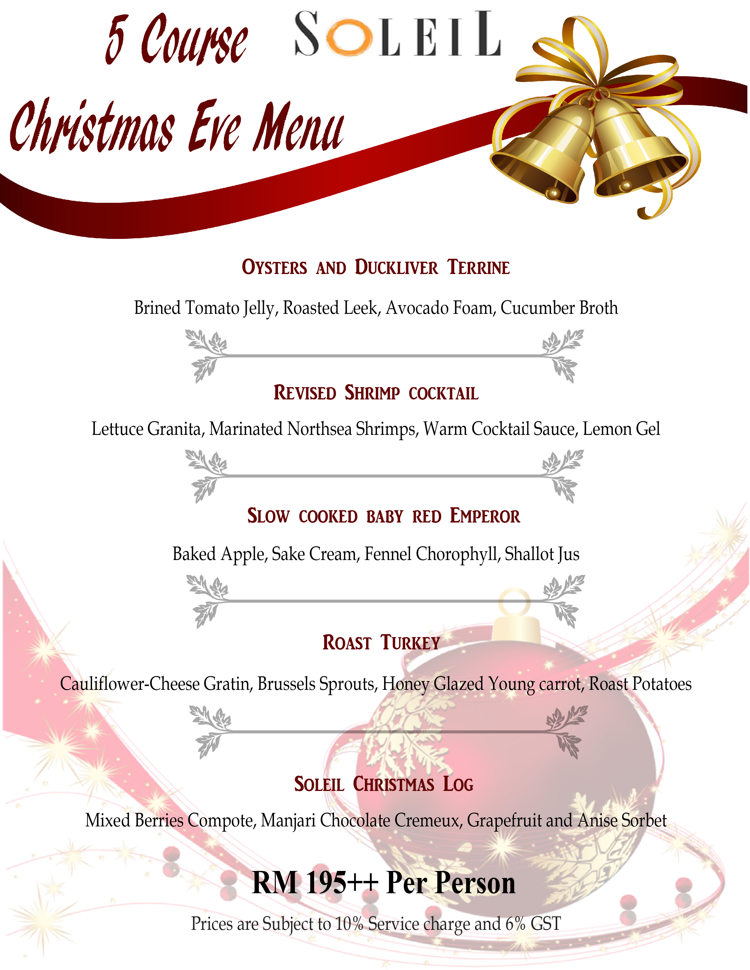 Christmas and New Year\'s Eve Dinners/ F&B Promotions in Kuala Lumpur ...