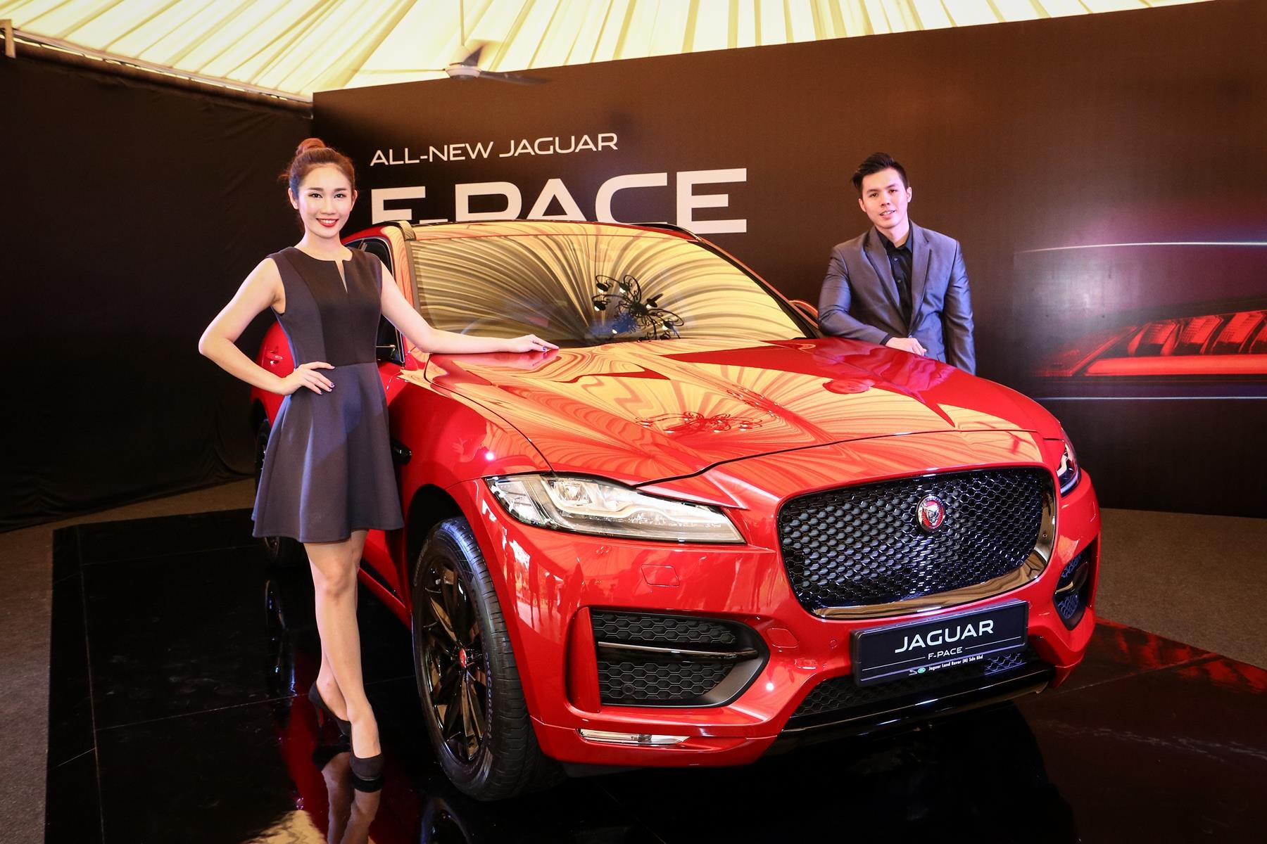 jaguar f pace performance suv launched in malaysia. Black Bedroom Furniture Sets. Home Design Ideas