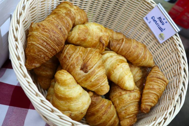Croissants by Yeast