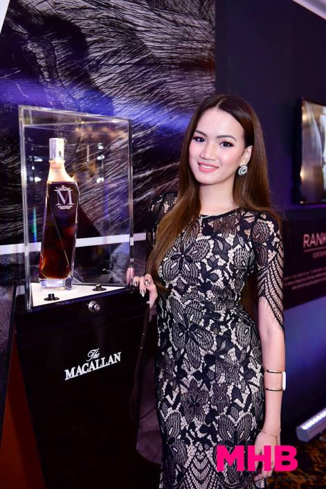 A pic with some of The Macallan's really rare and expensive whiskies