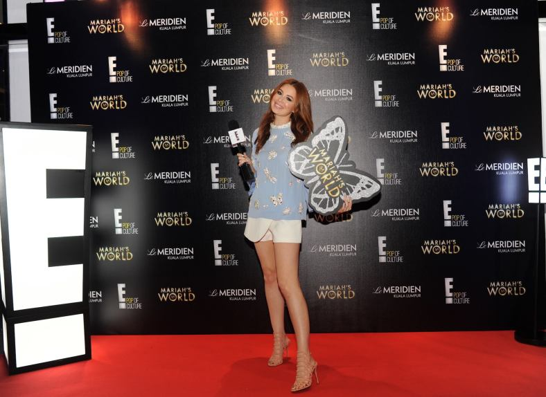 Yvette King of E! Channel at the launch party at Le Meridien Kuala Lumpur