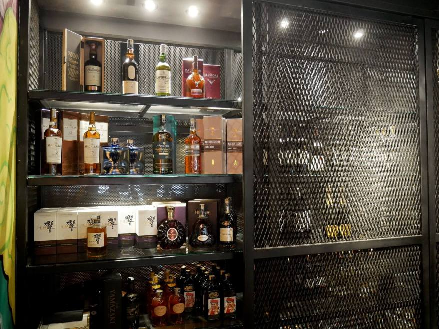 As Kouzu is also as much of a bar as it is a restaurant, there's a wide choice of alcohol available!