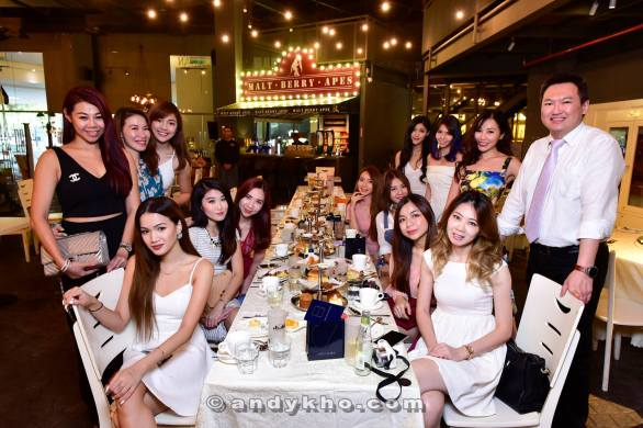 Malaysia's Hottest Bloggers 5th Anniversary high tea at EGG Sunway