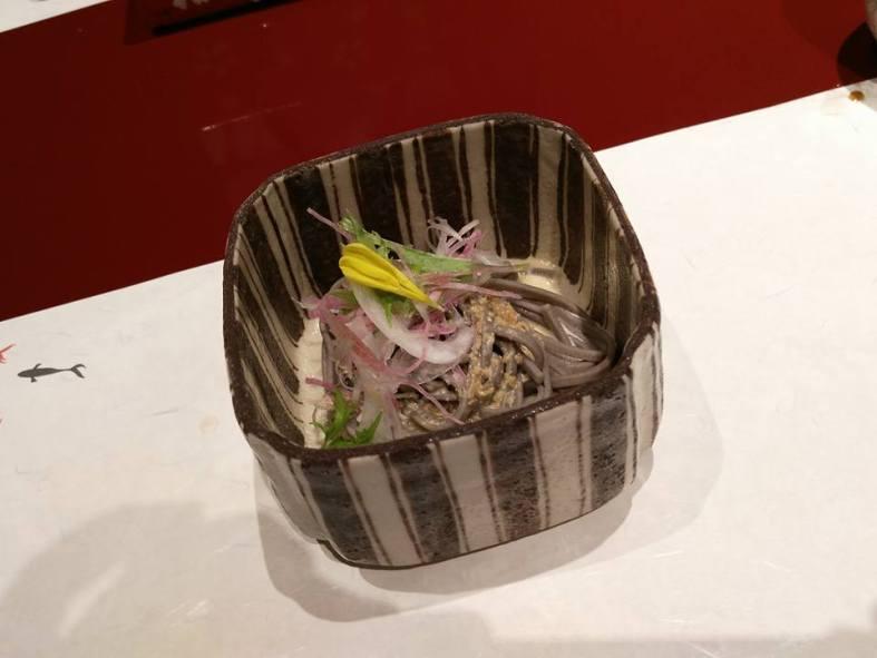 Oshinogi -- Echizen Soba Salad (soba from Fukui)