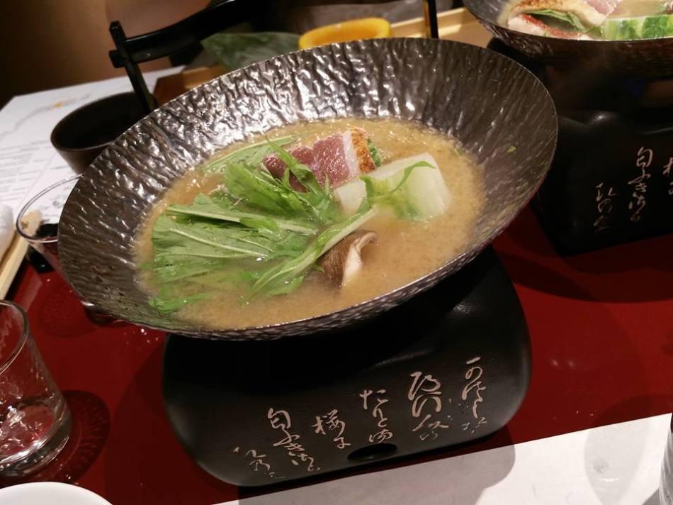 Seasonal Vegetable with Yuzu Flavoured Stock