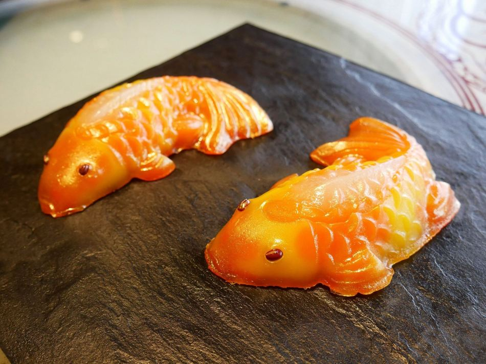 Twin Koi Fish priced at RM88.00 nett per pack
