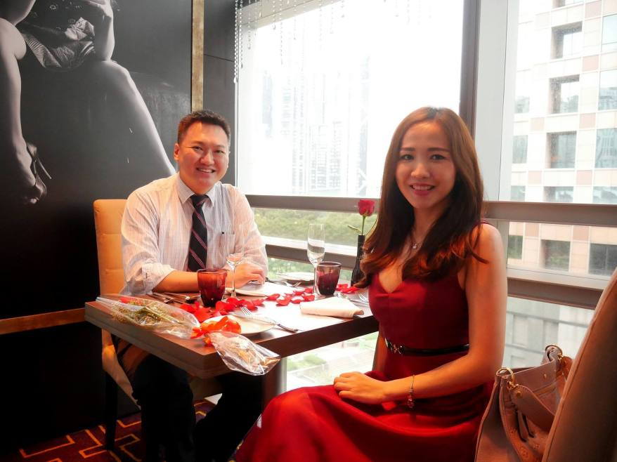 We got to try the Valentine's Day menu at Gobo Upstairs Lounge & Grill which is located on the 6th floor of Traders Hotel KL