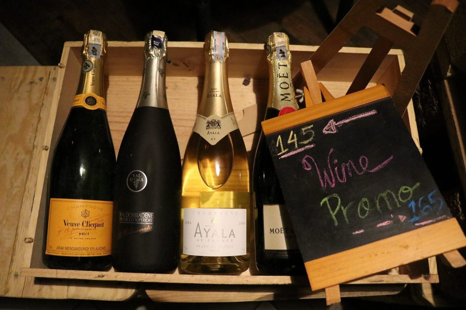 Look out for their wine/ bubbly promotions of the month which are good value for money buys