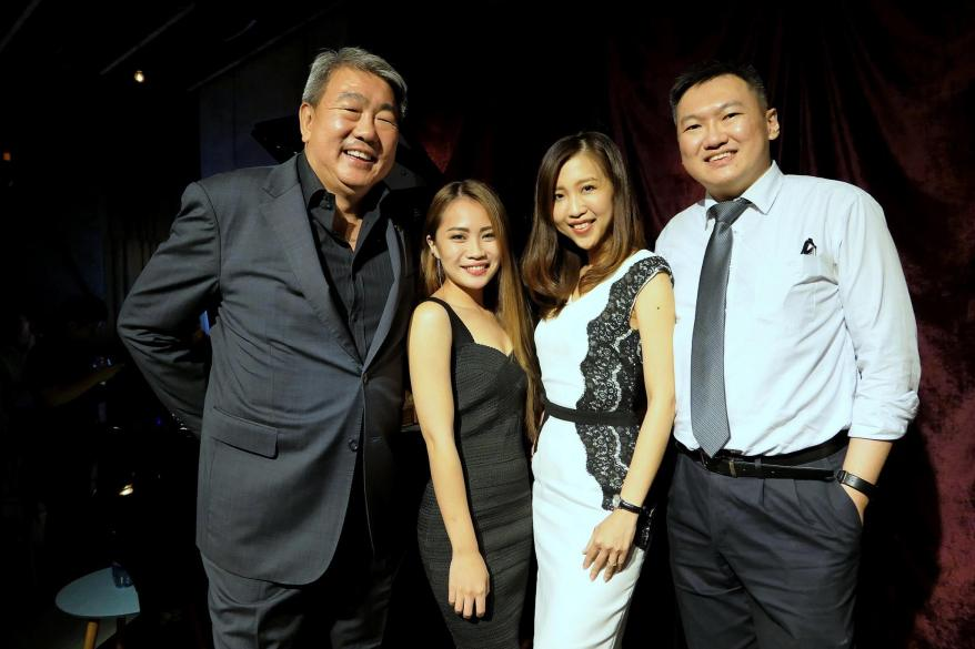 Us with birthday boy and The Glenlivet ambassador Lionel Lau