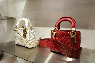 Supple Lady Dior Bag Studded Calfskin