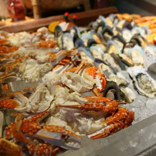 Seafood galore!