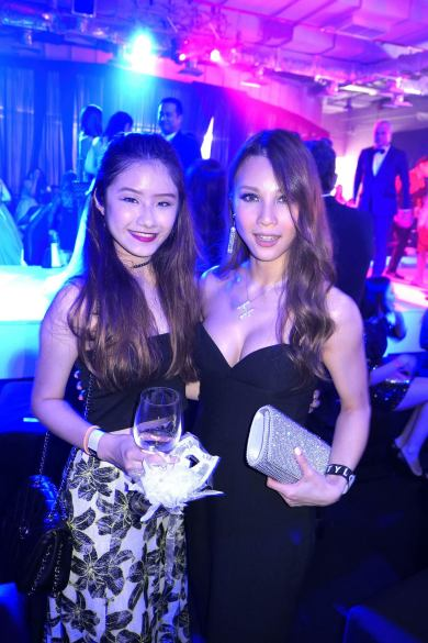 Jean with the gorgeous Hannah Tan