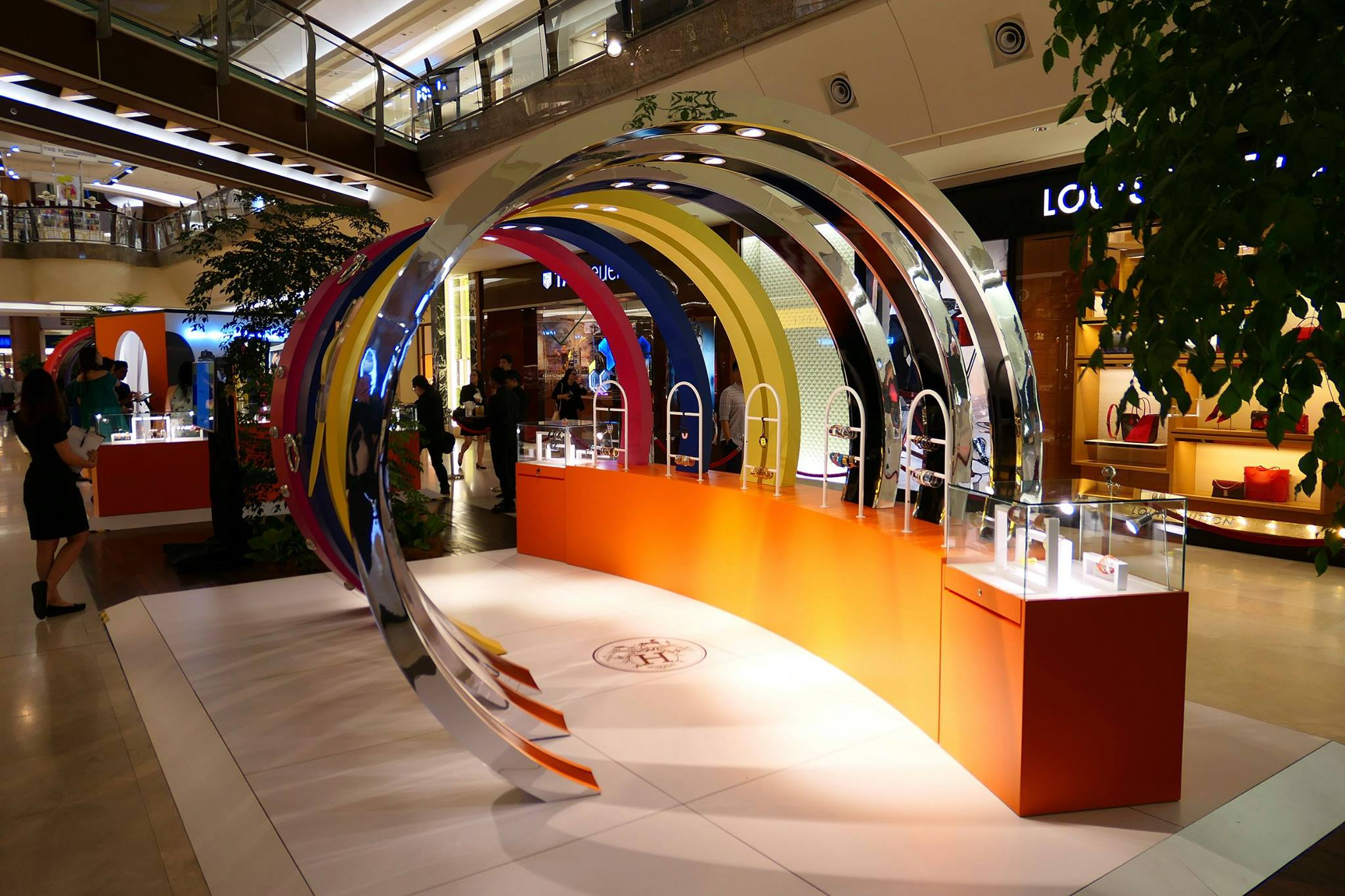 Hermes Hermèsistible Pop Up Store at The Gardens Mall, Mid ...