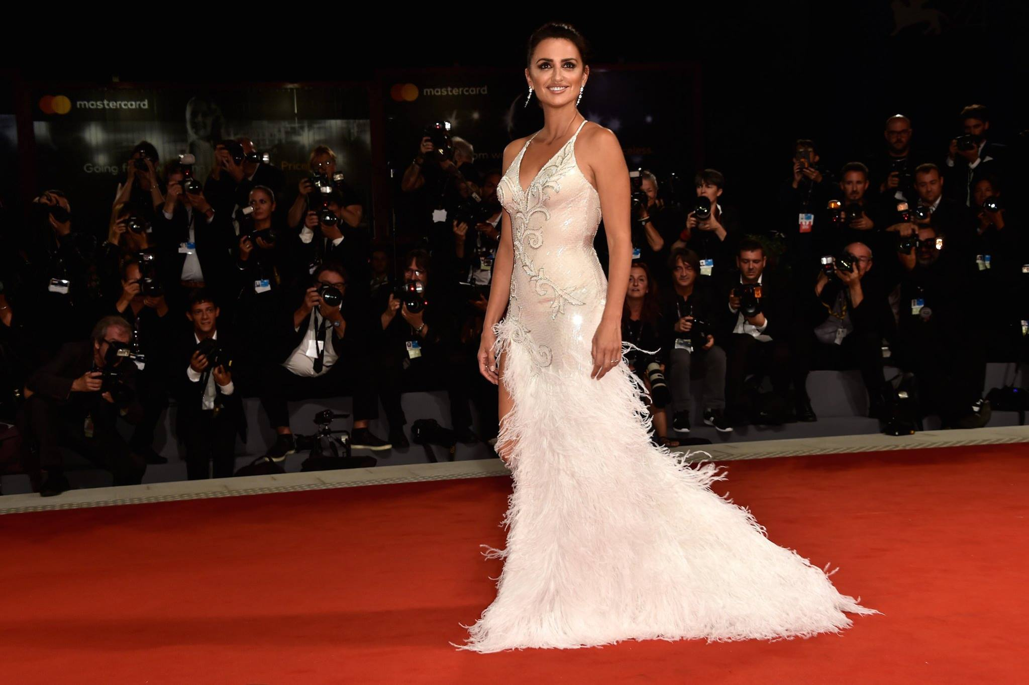 Stars in in Atelier Versace at the 74th Annual Venice Film Festival