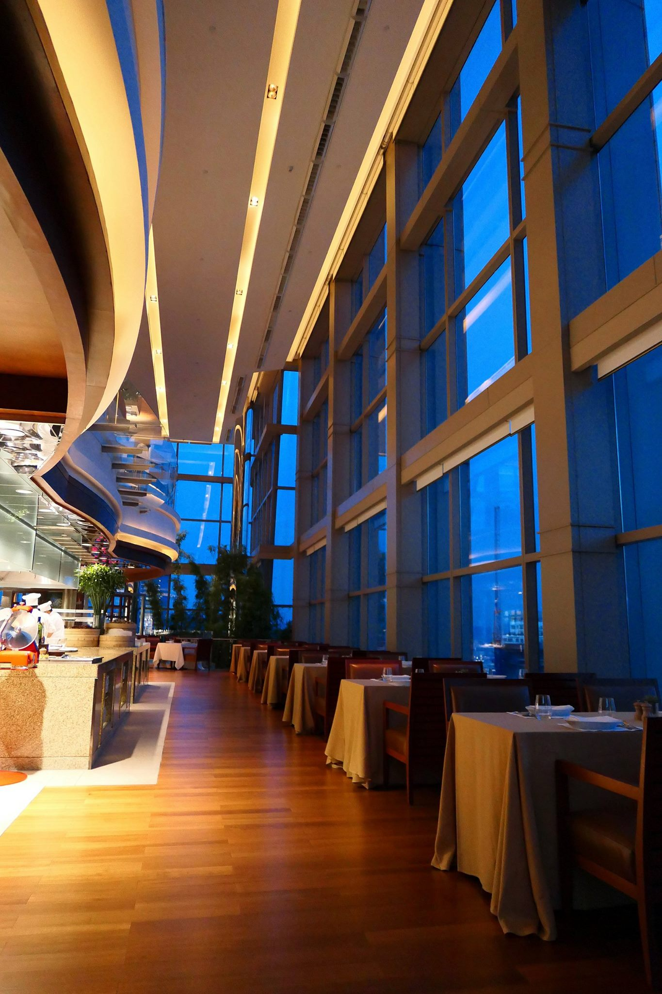 romantic dinner with a view of klcc thirty8 grand hyatt kuala
