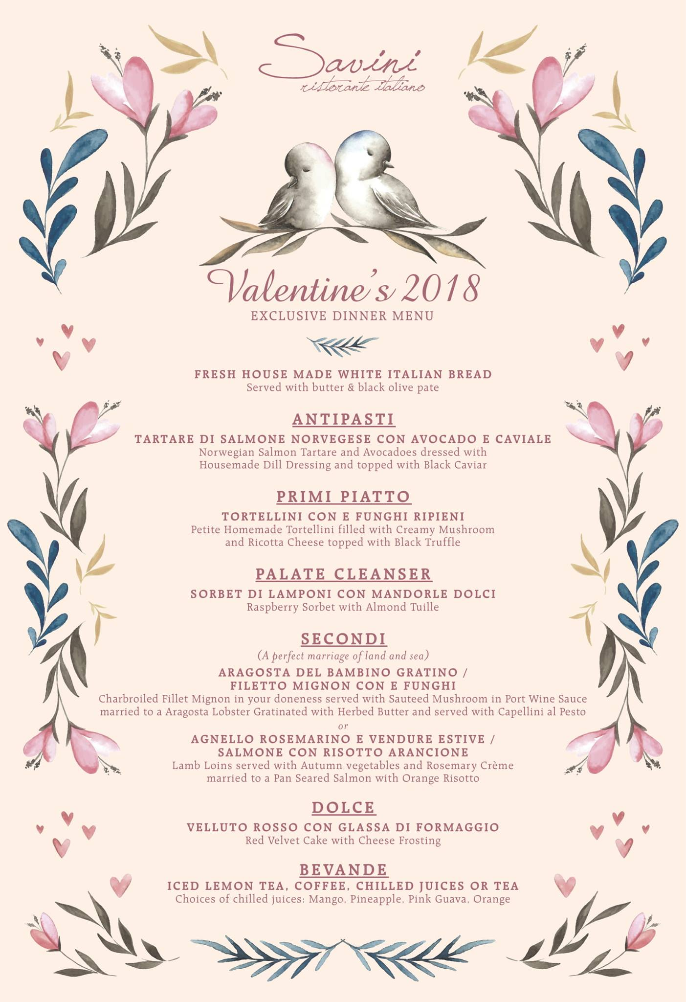 Valentine S Day 2018 Romantic Dinners In Kuala Lumpur Klang
