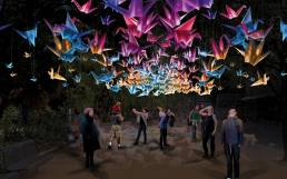 1000 Cranes - Artist impression by Ambient & Co