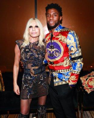 Donatella Versace, Chadwick Boseman