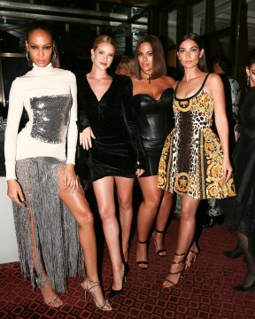 Joan Smalls, Rosie Huntington-Whiteley, Ashley Graham, Lily Aldridge