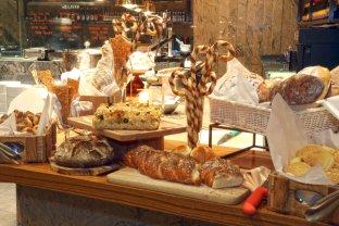 Delicious Spread of Bread Selections