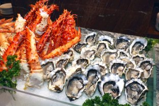 Fresh Seafood Spread in Feast
