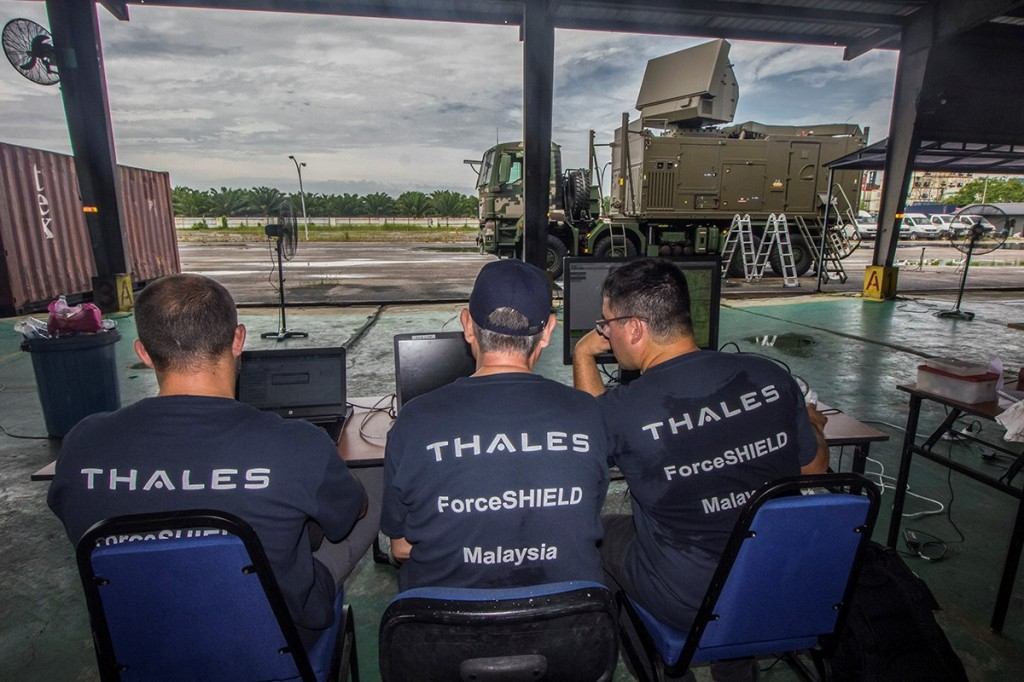 ForceSHIELD Ground Based Air Defence (GBAD) system project for the Malaysian Armed Forces (MAF).
