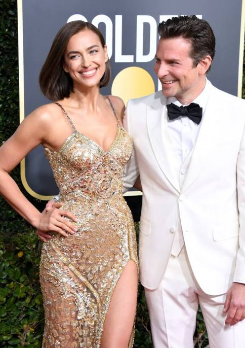 irina shayk in atelier versace at the 76th annual golden globe awards (jan 6) 2