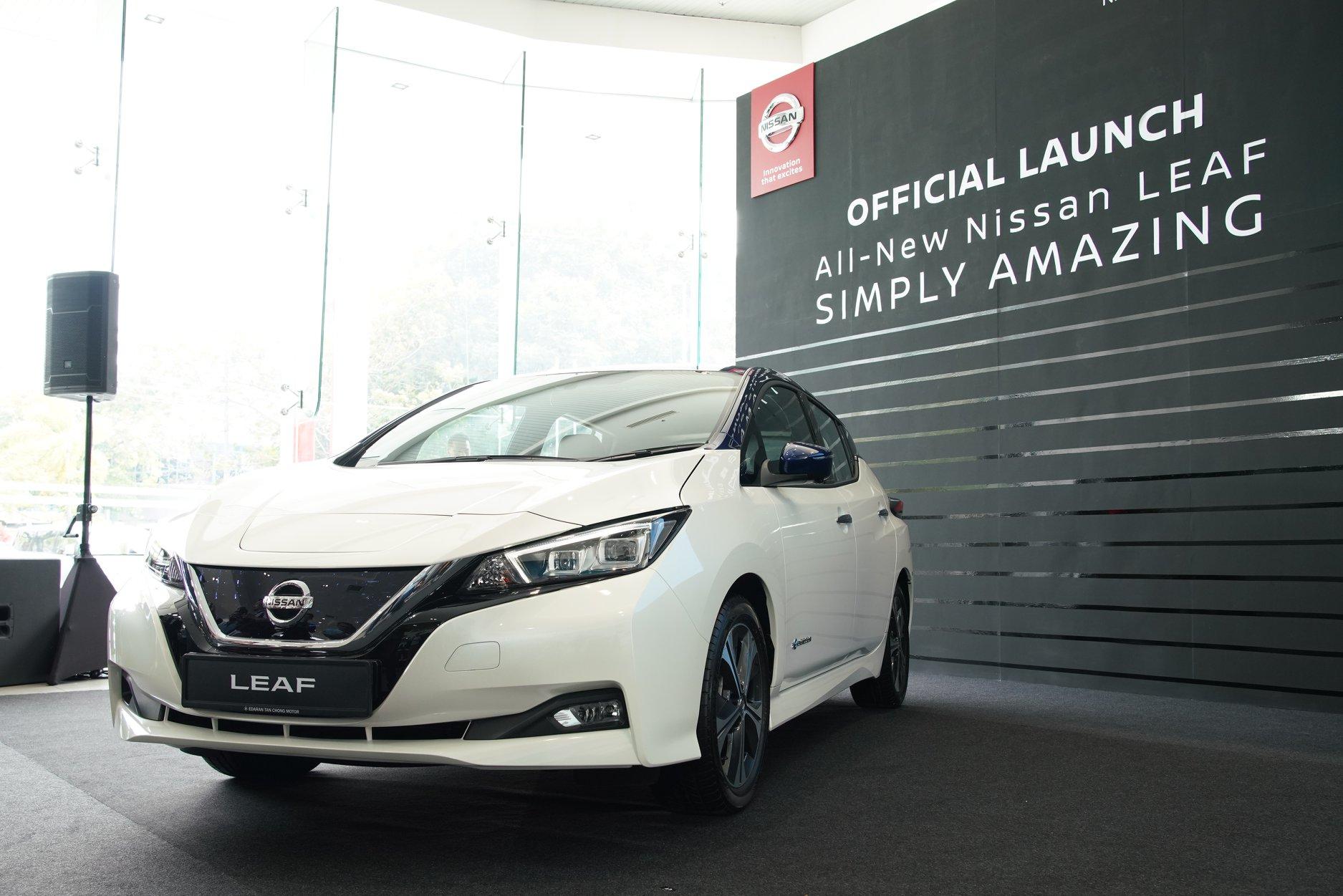 Edaran Tan Chong Motor Launches the Nissan LEAF in Malaysia