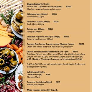 Chez Gaston Bangsar Delivery Takeaway Menu May 2020 04