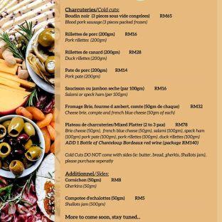 Chez Gaston Bangsar Delivery Takeaway Menu May 2020 04