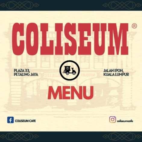 Coliseum Takeaway Delivery Menu 15
