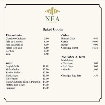 Nea Fine Bake Delivery Menu 03