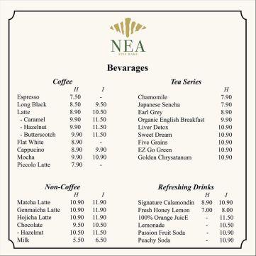 Nea Fine Bake Delivery Menu 04