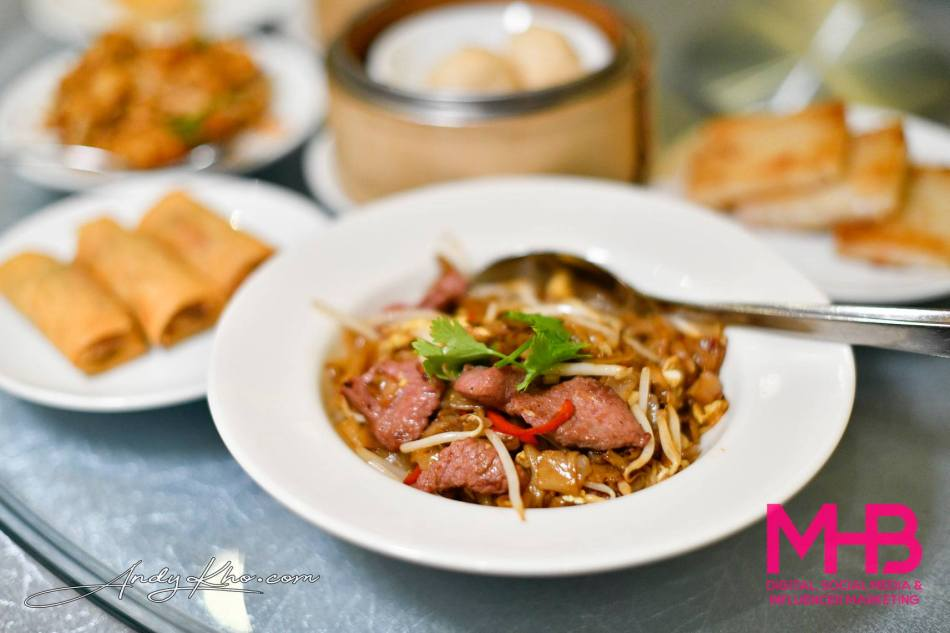 "Fried Rice Noodles with Beef ""Hong Kong"" Style"
