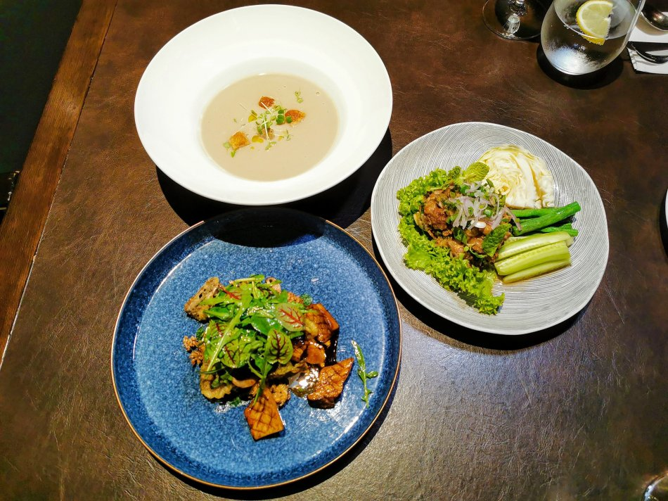 Set lunch at Bref by Darren Chin