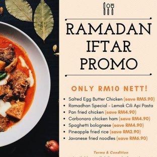 Jibril Subang Jaya Ramadan 2020 Menu