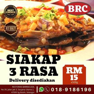 Restoran Barracuda Ramadan 2020 Menu