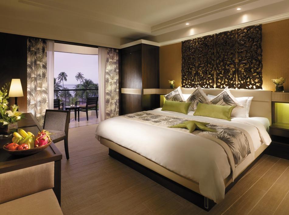 Deluxe Seafacing Room at Golden Sands Resort Penang