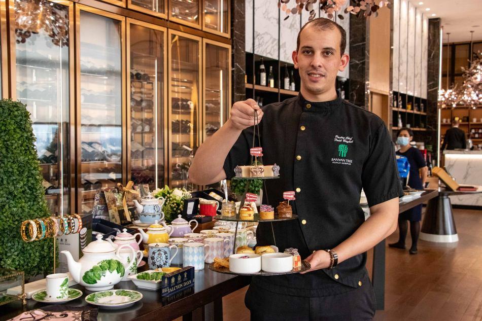 Chef Fodil of Banyan Tree kuala Lumpur